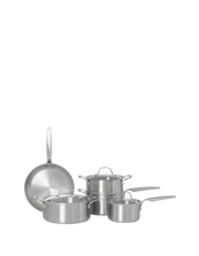 Ultima 3 Triply Stainless Steel 5 Piece Cookware Set