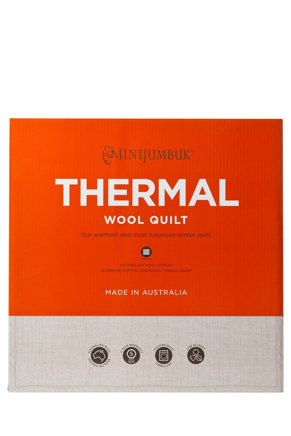 Mini Jumbuk | Thermal Wool Quilt | Myer Online : wool quilt review - Adamdwight.com