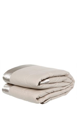 Tontine Luxe - Feather & Down Blanket in Taupe
