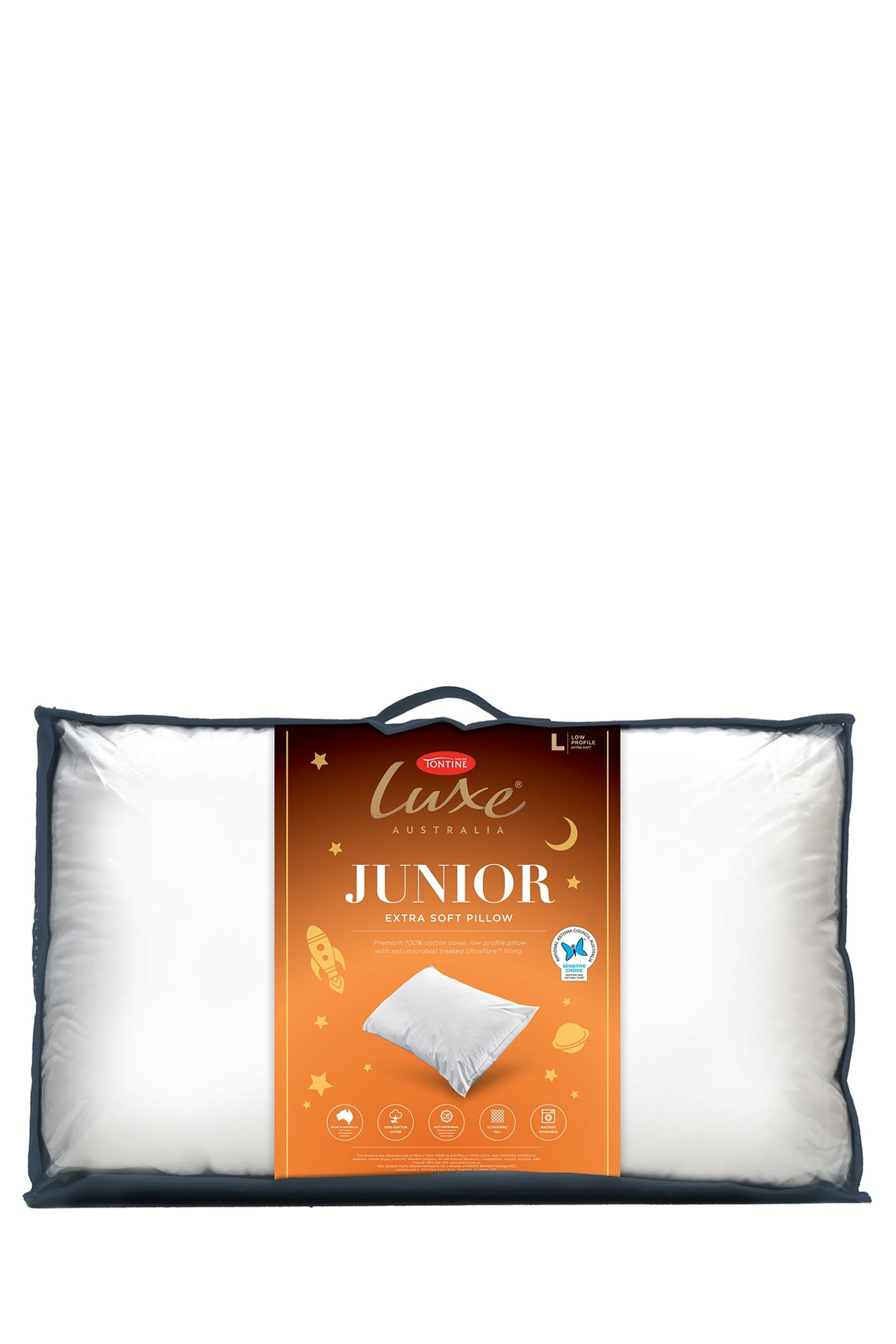 Tontine Luxe Junior Polyester Pillow Soft Myer Online