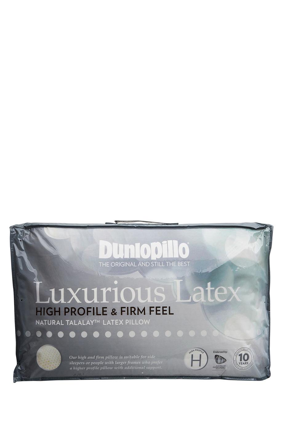 Dunlopillo latex high profile pillow in firm feel myer online - Dunlopillo 100 latex ...