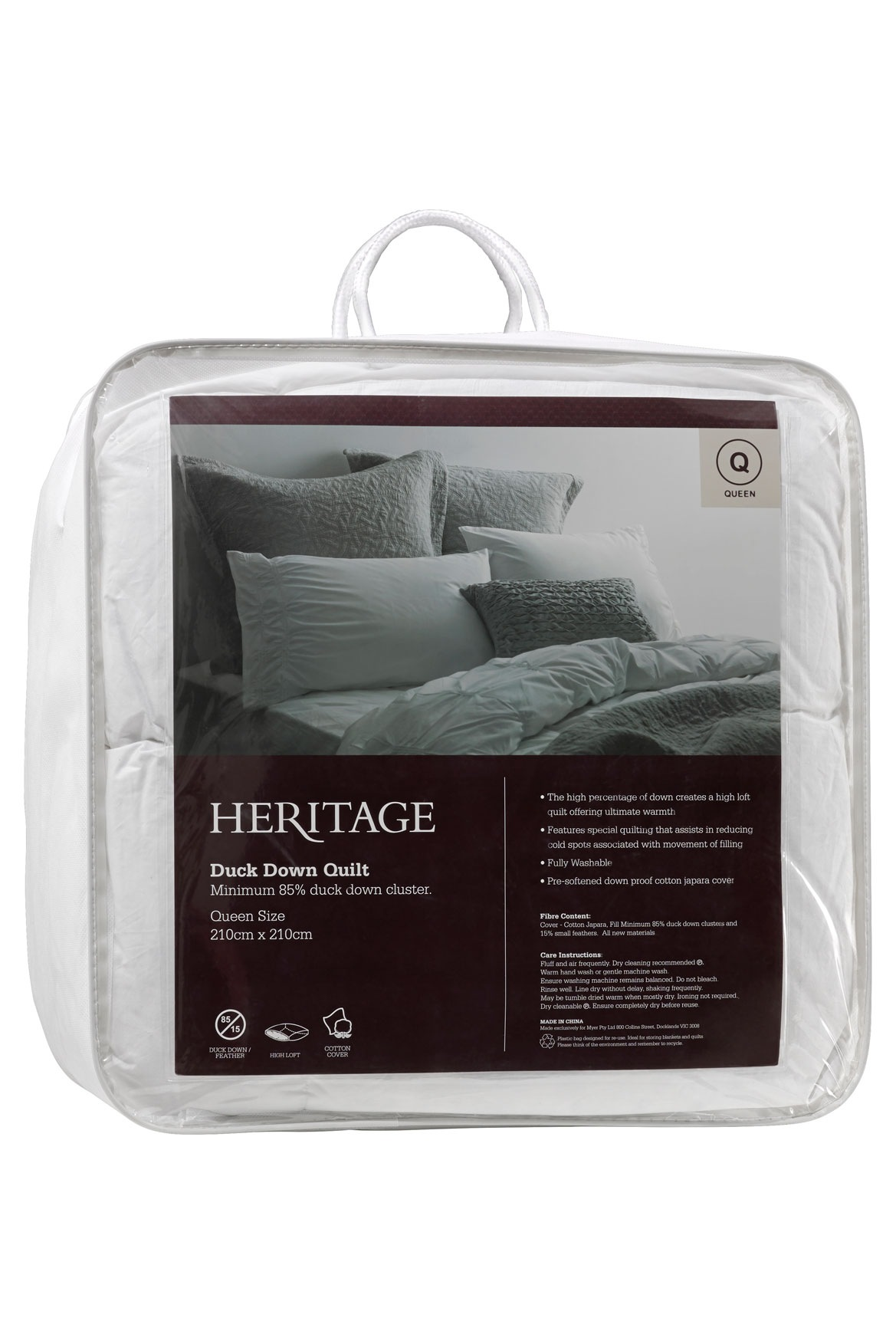 NEW Heritage 85/15 Grey Duck Down & Feather Quilts | eBay : duck down quilt - Adamdwight.com