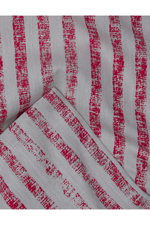 Australian House & Garden - Painted Stripe Red Tablecloth 150x250cm