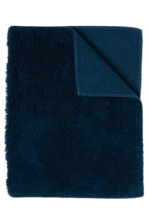 Heritage - Canterbury Bath Mat in  Navy