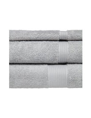 Myer - Allure Towel Range in Silver
