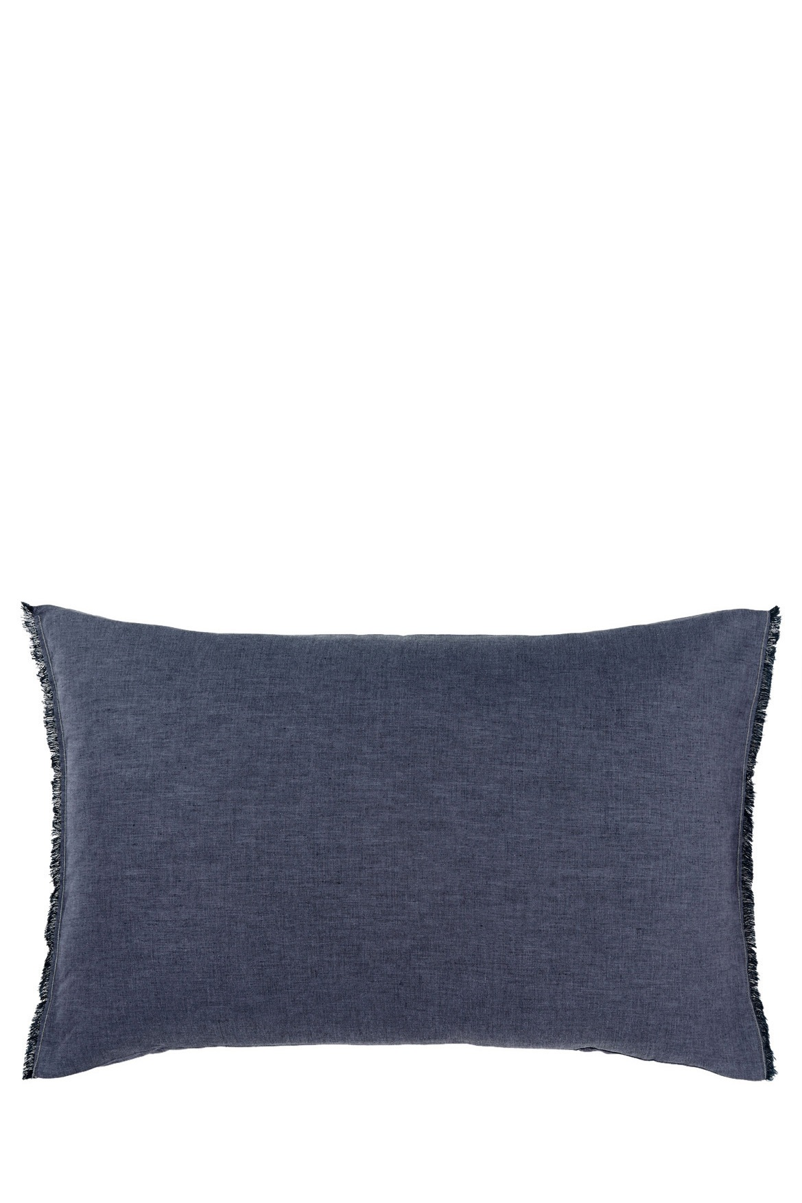 Aura by tracie ellis chambray fringe range in indigo for Tracie ellis bedding