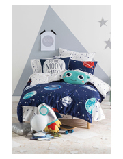 Hiccups - Planetary Quilt Cover Range