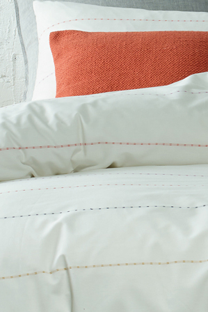 Vue - Montana Quilt Cover Range in White
