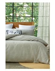 Springbrook Quilt Cover Range in Grey