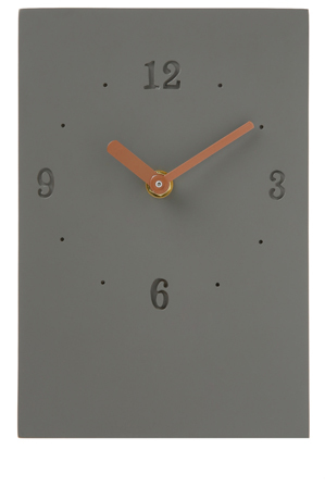 Vue - Infusion Concrete Desktop Clock