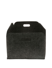 Vue - Felt Storage Basket, Large - Grey