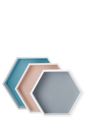 Vue - Infusion Hexagon Storage Boxes, Set of 3