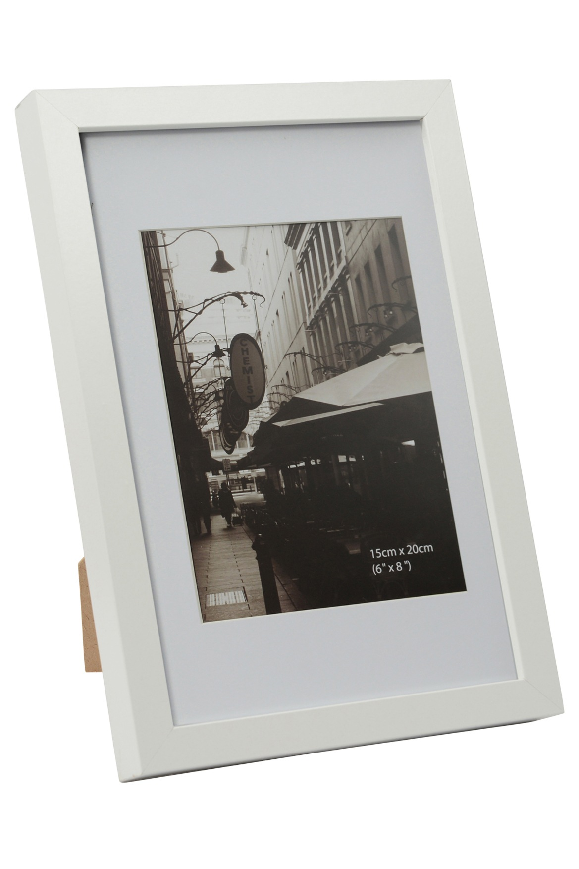 Vue | Essence Matt Board Photo Frame, 20x25cm - White | Myer Online