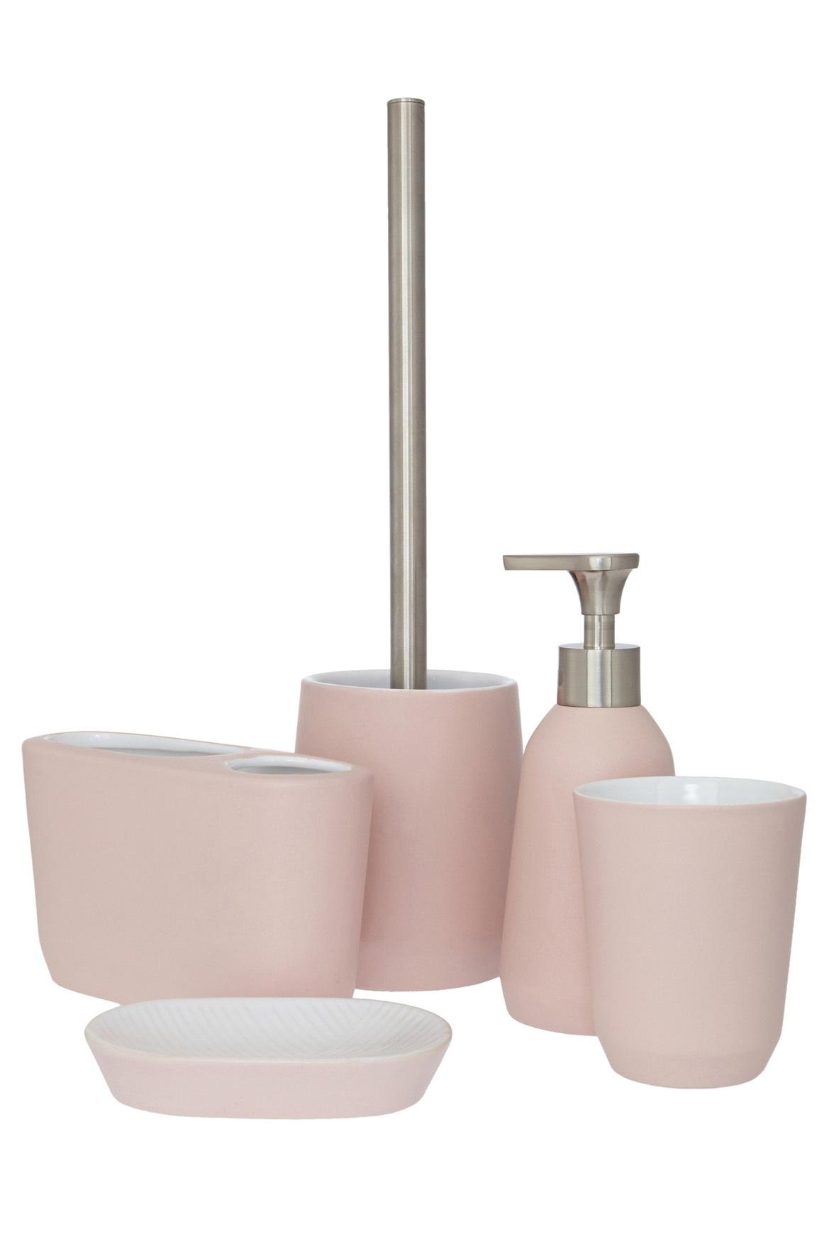 Myer bathroom accessories - John Lewis Lunda Plaster Ceramic Bathroom Accessories In Pink Myer Online