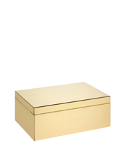 John Lewis - Design Project Jewellery Box: Small Gold