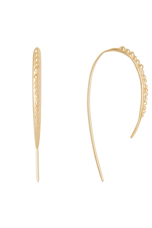 Fairley - SS498PGP Granualtion Ear Hoops