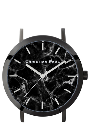 Christian Paul - Christian Paul MAR-BLK-BLK-43mm Black Marble dial / Black Case