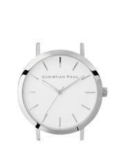 Christian Paul - Christian Paul RAW-WHI-SIL-35mm White Dial / Silver Case