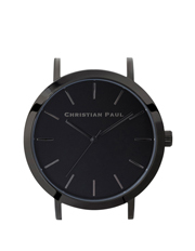 Christian Paul - Christian Paul CAP-BLK-BLK-35mm Black Dial / Black Case