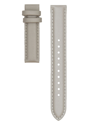Christian Paul - Christian Paul STLEA-GRY-16mm Grey Stitched leather strap