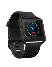 Fitbit - Blaze Smart Fitness Watch Black Gunmetal - Large