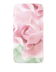 Knowai Porcelain Rose iPhone 7 Folio White/Floral