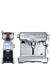 Breville - BEP920BSS Dynamic Duo Espresso Maker & Coffee Grinder Pack: Stainless Steel