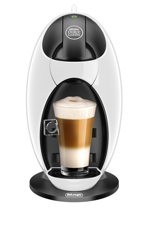 Nescafe by Delonghi EDG250W Dolce Gusto Jovia Capsule Coffee Maker: White Myer Online