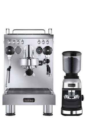 Sunbeam - PU8000 Torino Auto Espresso Machine with Grinder: Stainless