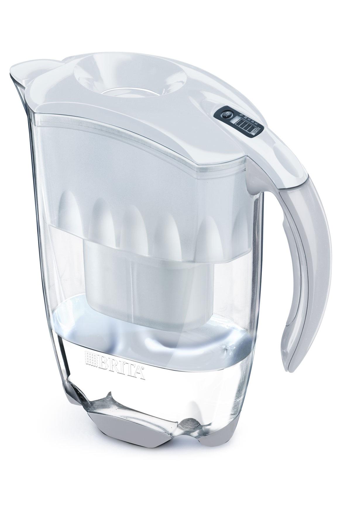 brita exmw elemaris xl 3 5 litre filter jug white myer online. Black Bedroom Furniture Sets. Home Design Ideas
