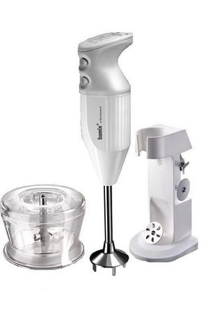 Bamix - Deluxe Stick Blender White 7BA0010