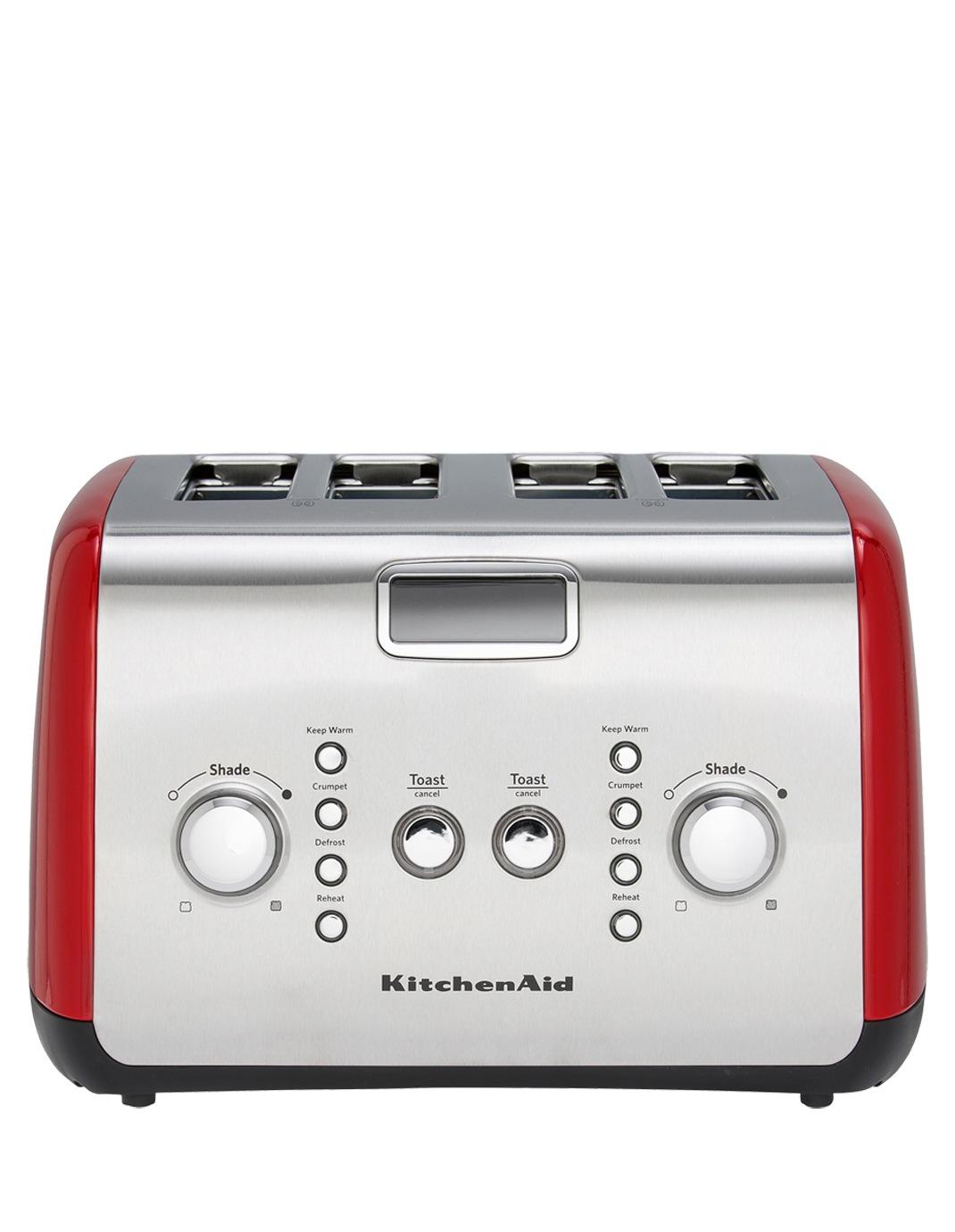 Kitchenaid Artisan 4 Slice Toaster Empire Red Kmt423