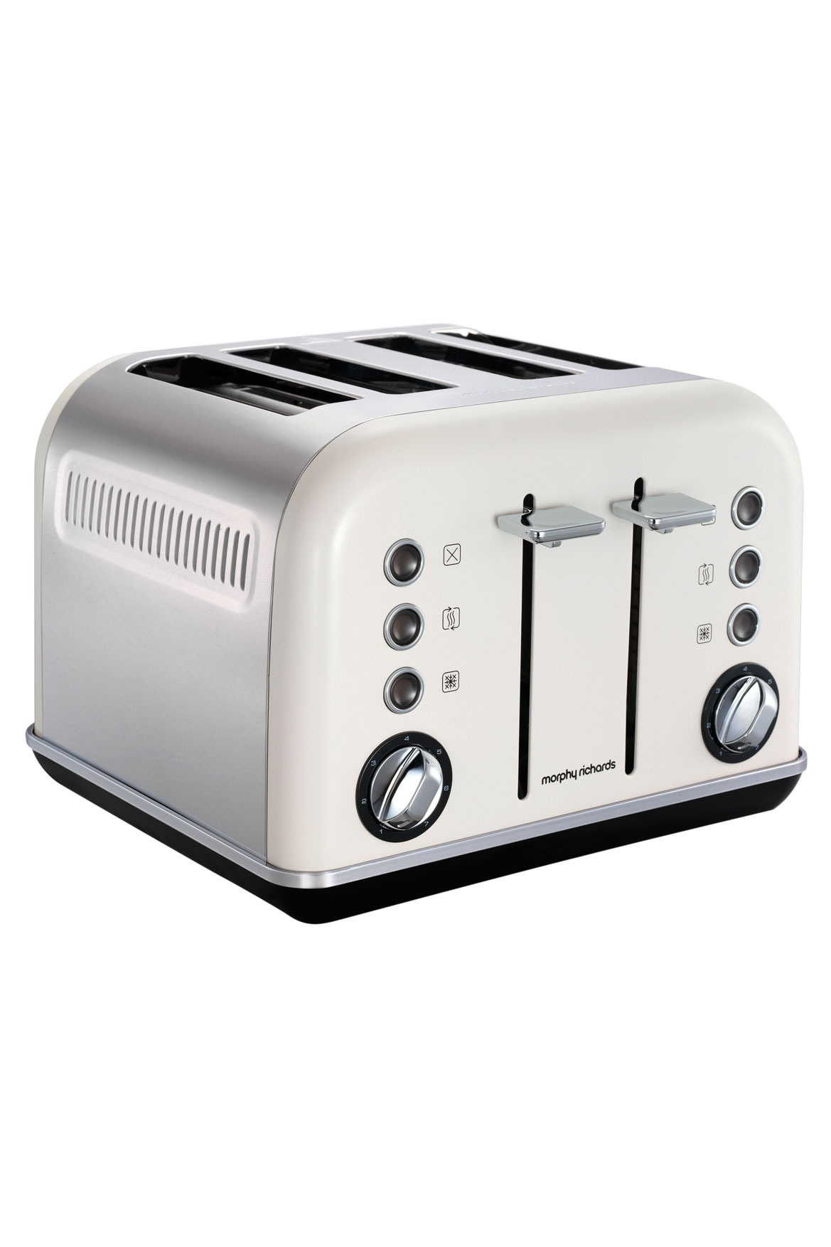 Morphy Richards | 242021 Accents 4 Slice Toaster: White | Myer Online