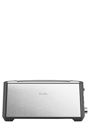 Breville - BTA440BSS The Bit More Plus 4 Slice Toaster: Brushed Stainless Steel