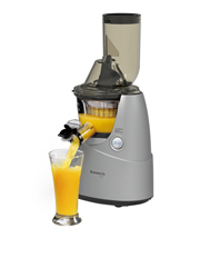 Kuvings - B6000SV Whole Fruit & Vegetable Slow Juicer: Silver