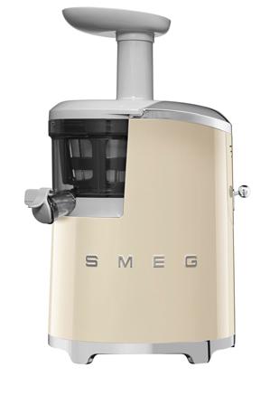 Slow Juicer Myer : Smeg SJF01CRAU Retro Style Slow Juicer: Cream Myer Online