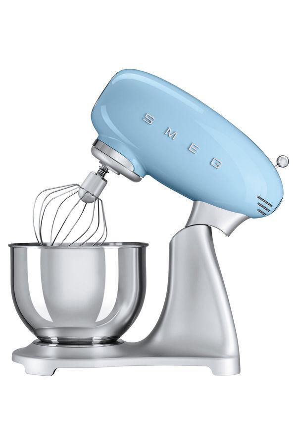 Smeg | KMF01PBAU Kitchen Mixer: Pastel Blue | Myer Online