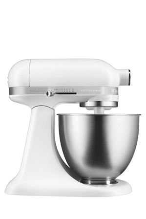 KitchenAid - KSM3311 Artisan Mini Stand Mixer: Matte White: 5KSM3311XAFW
