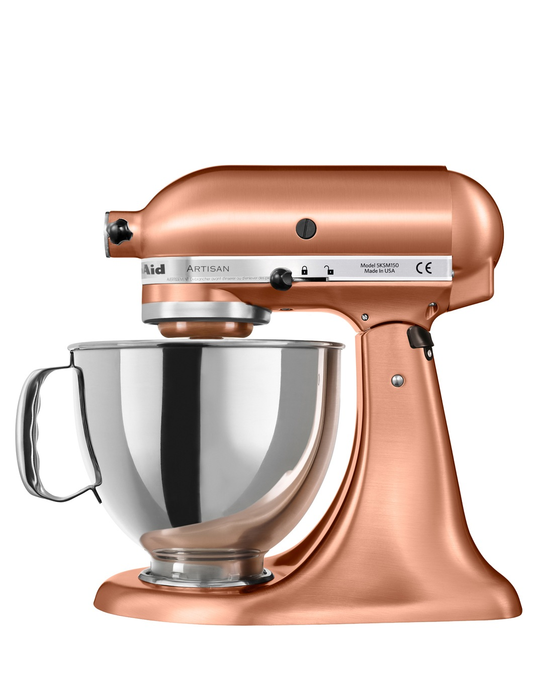 Kitchenaid Ksm150 Artisan Stand Mixer Satin Copper