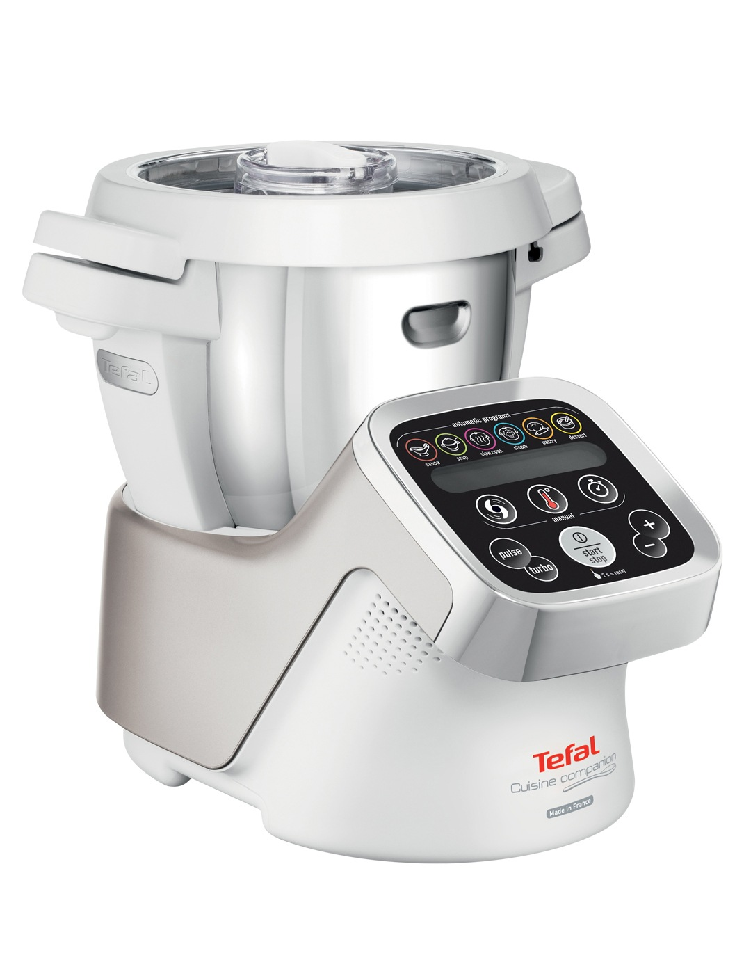 Tefal | Cuisine Companion The All In One Kitchen Wonder Machine:  White/Silver | Myer Online