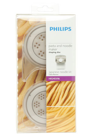 Philips Pasta and Noodle Maker - Japanese Kit