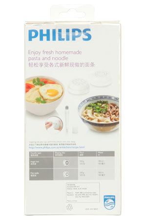 Philips - HR2401/06 Chinese Noodle Kit for HR2357/06 Pasta & Noodle Maker