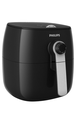 Philips - HD9621/11 Turbo Star Airfryer: Black