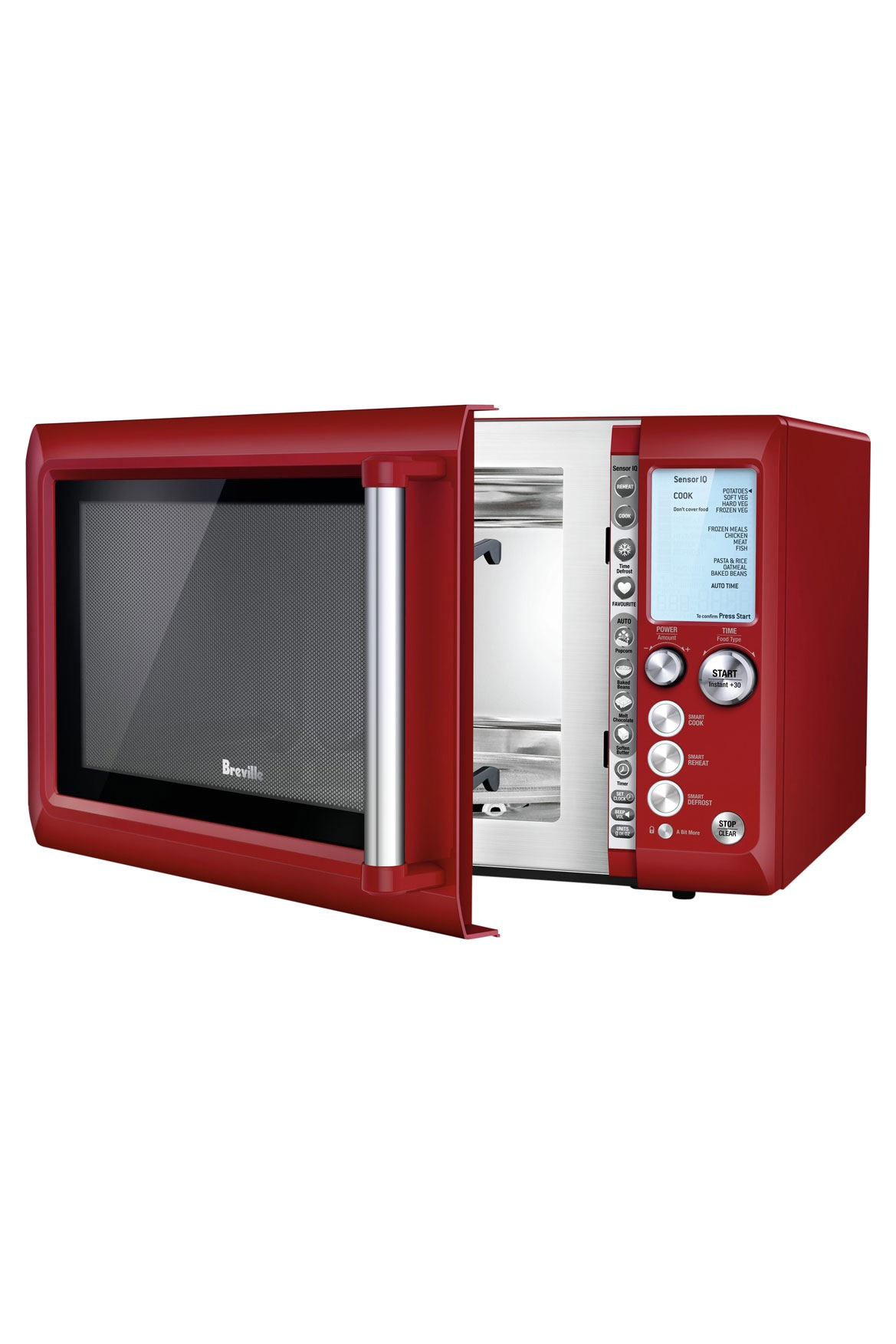 Breville | the Quick Touch Microwave BMO735CRN | Myer Online