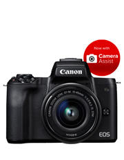 EOS M50 Mirrorless Camera with EF-M 15-45mm Lens