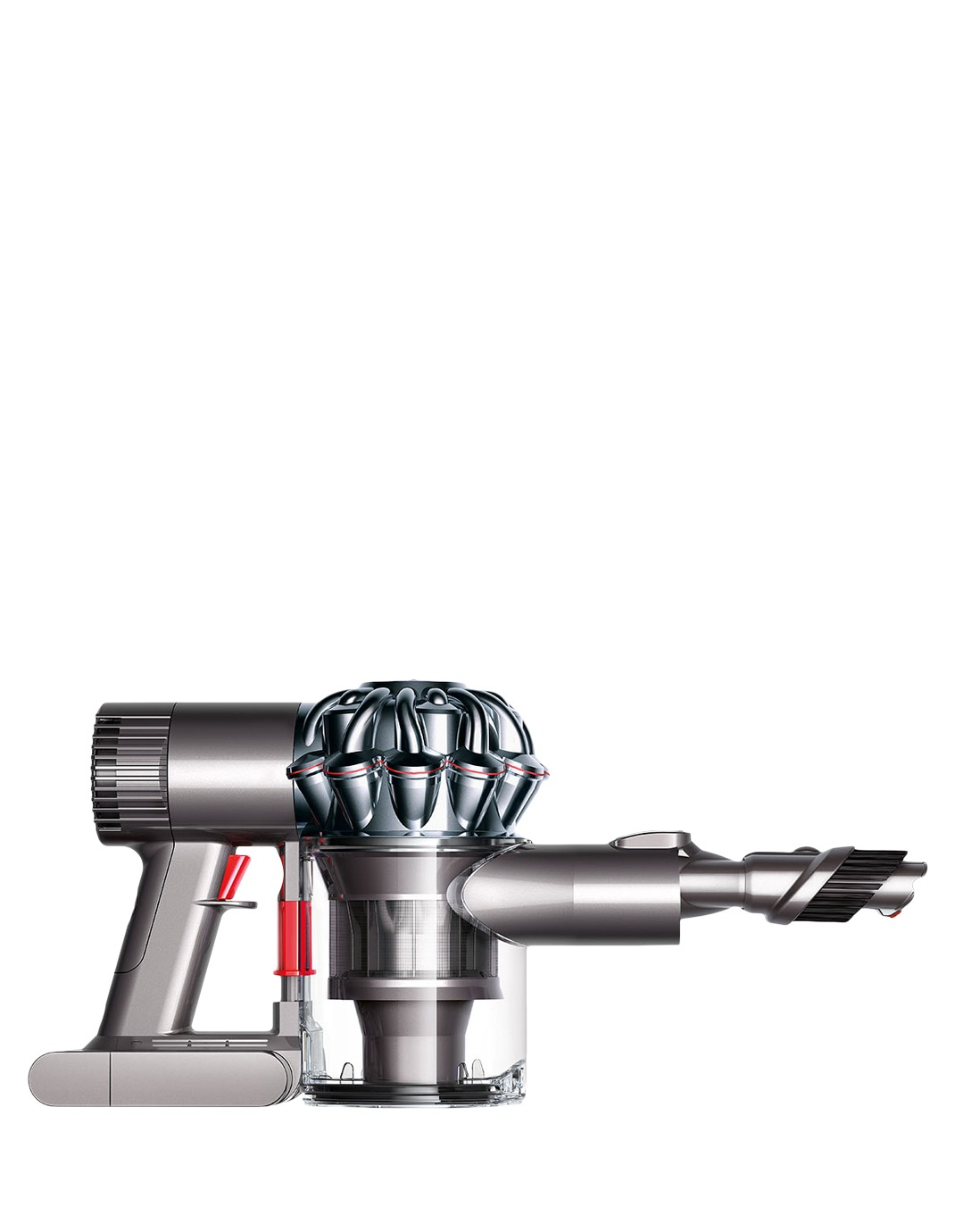 dyson v6 trigger handheld vac iron nickel myer online. Black Bedroom Furniture Sets. Home Design Ideas