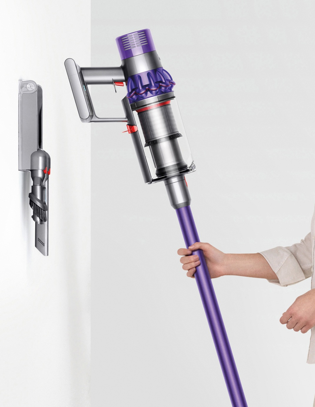 dyson cyclone v10 animal purple myer online. Black Bedroom Furniture Sets. Home Design Ideas
