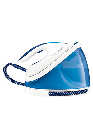 Philips - GC7031 Perfect Care Viva Ironing System: White/Blue
