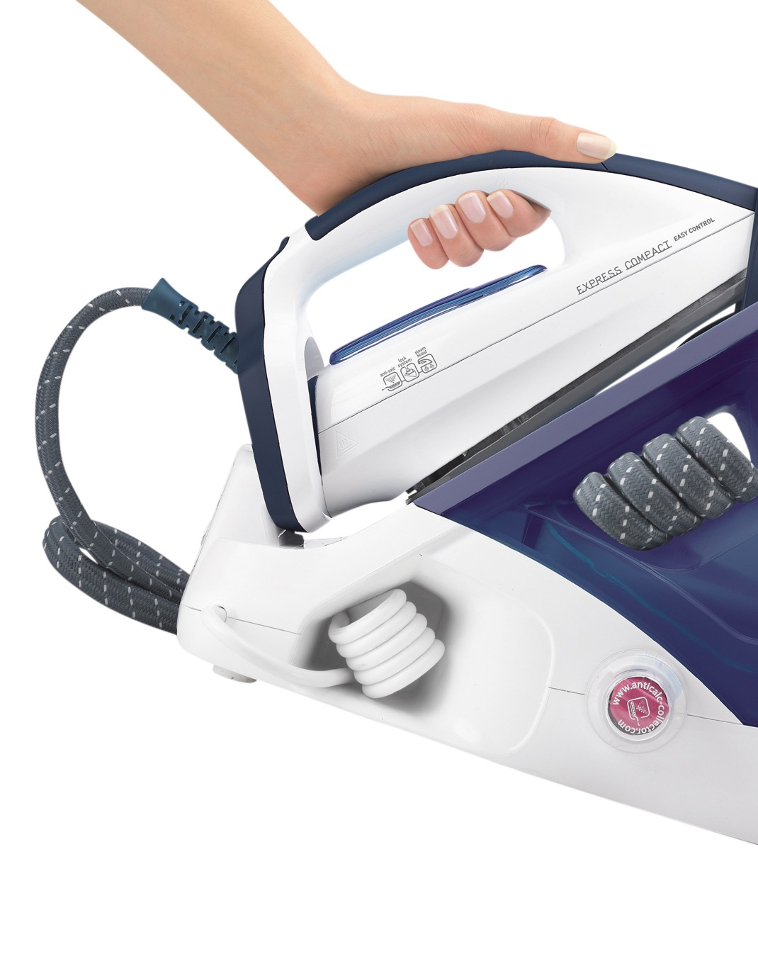tefal express compact iron manual