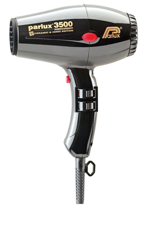 Parlux - 3500 Super Compact Ceramic & Ionic Hair Dryer 149511: Black